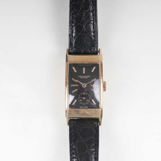 Vintage Herren-Armbanduhr 'Rectangluar' - photo 1