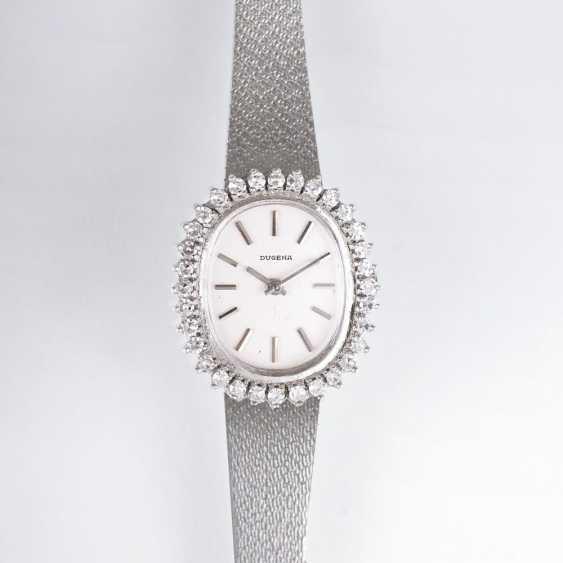 Vintage ladies wrist watch with diamonds - photo 1