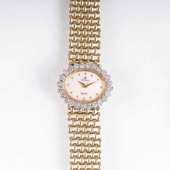 Ladies wrist watch by Cyma with diamonds - photo 1