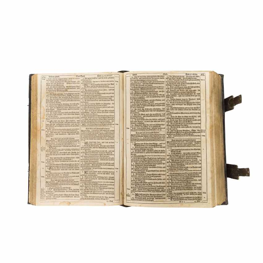 Large Format Bible, In The Beginning Of 18. Century - - photo 1