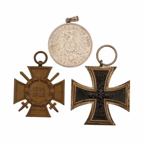 German Empire/WK I - pack with Iron cross 1914 - photo 1