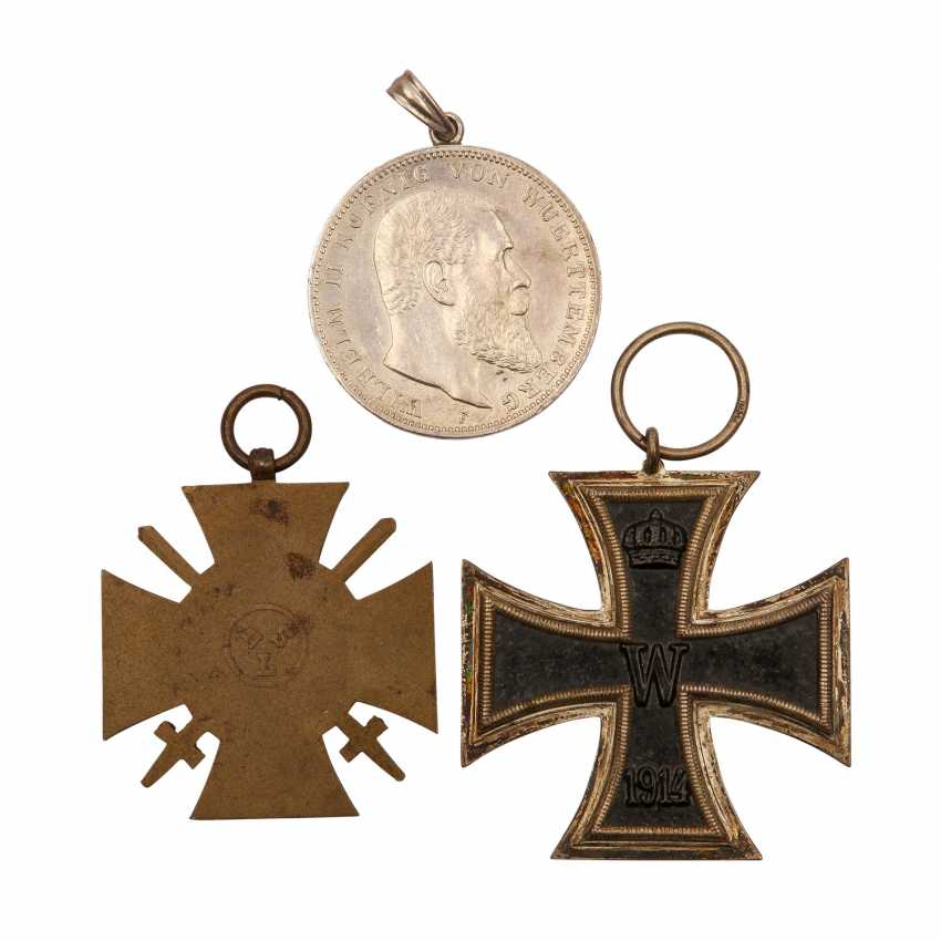 German Empire/WK I - pack with Iron cross 1914 - photo 2