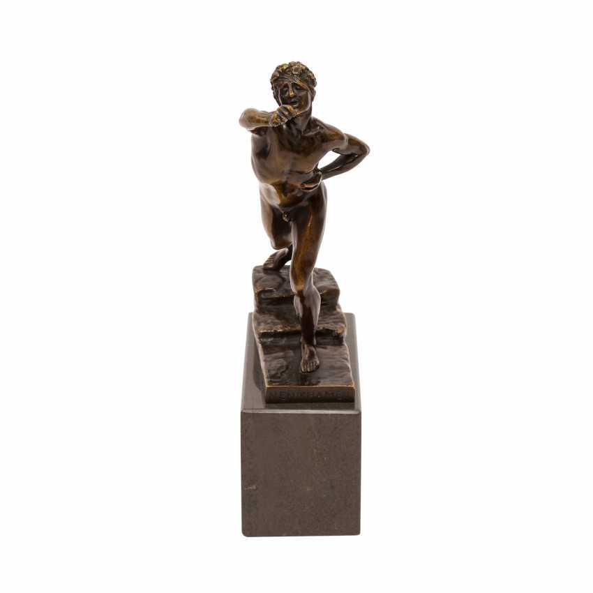Bronzefigur von MAX KRUSE (1854-1942): NENIKHAMEN. - photo 5