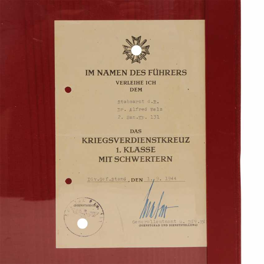 German Reich 1933-1945 document folder with 5 documents - photo 3