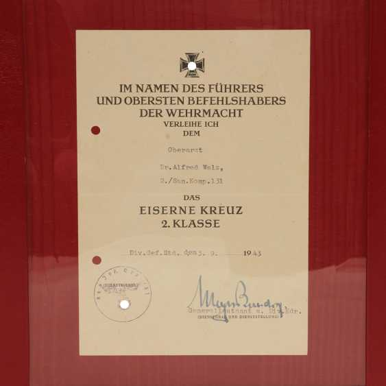German Reich 1933-1945 document folder with 5 documents - photo 6