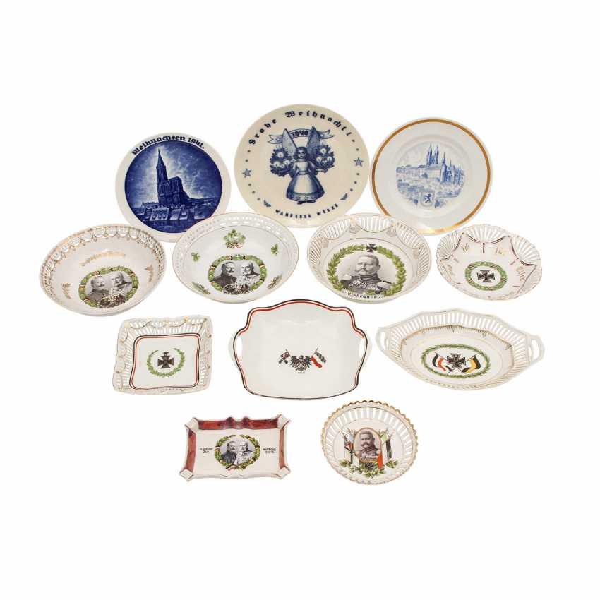 Souvenir porcelain 2 Christmas plate 1940/1941 ROSENTHAL, - photo 1