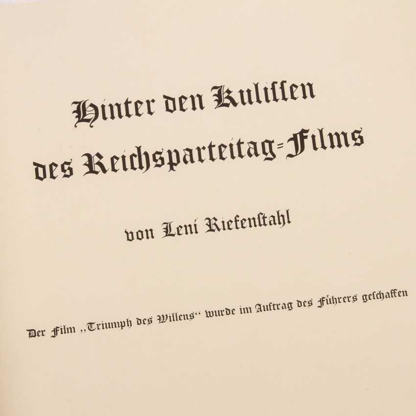German Reich 1933-1945 - Rare! Leni Riefenstahl: Behind the Scenes - photo 2