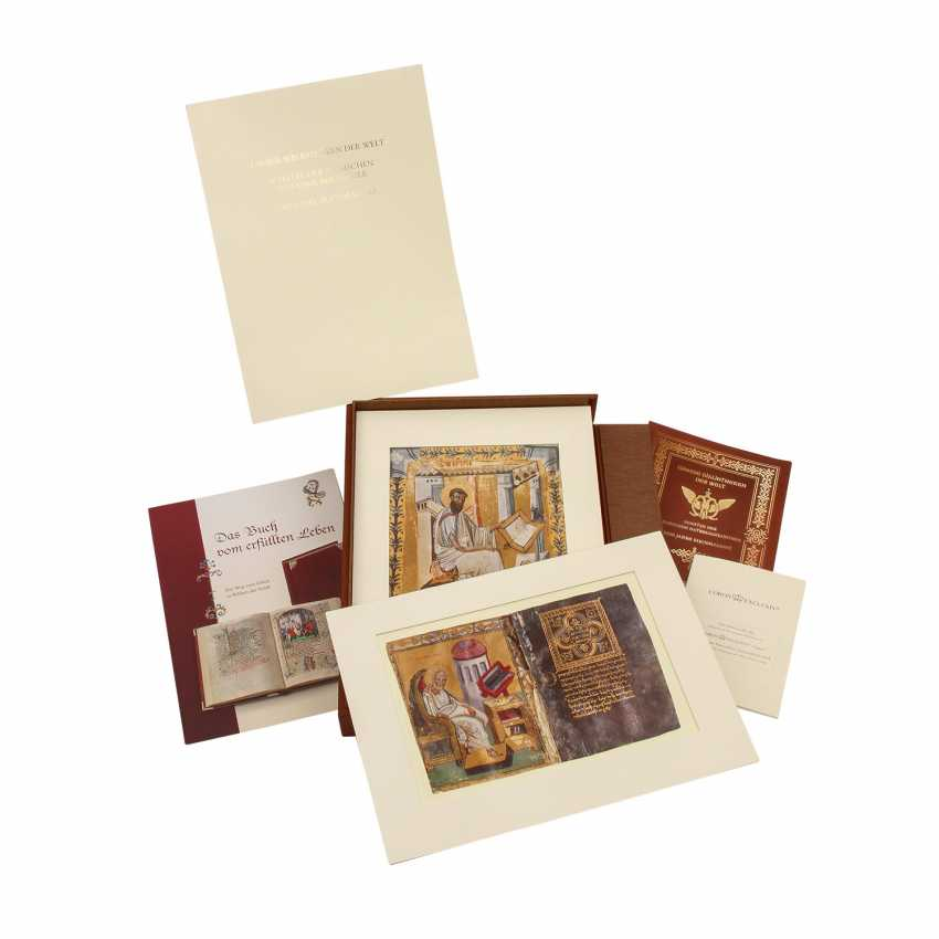 FACSIMILE of the treasures of the Russian national library, 1000 years of book painting - photo 4