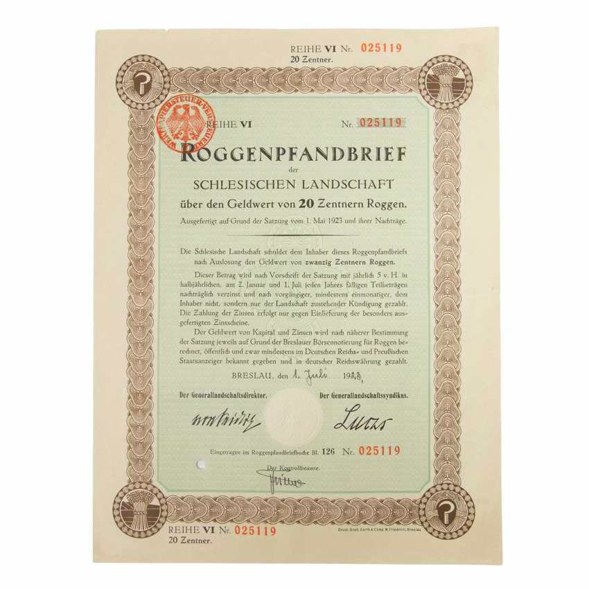 Historical securities - collection of about 130 pieces, - photo 2