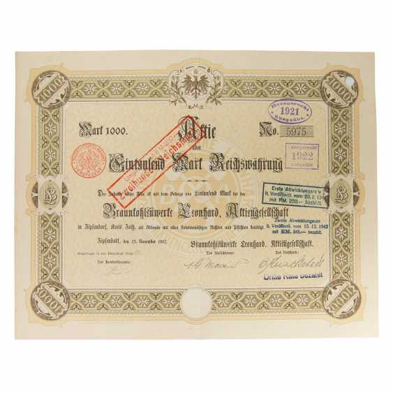 Historical securities - collection of about 130 pieces, - photo 4