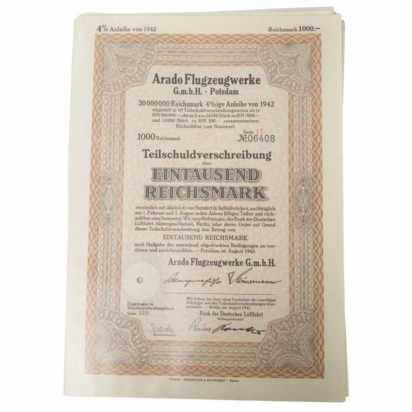 Historical securities - collection of about 130 pieces, - photo 5