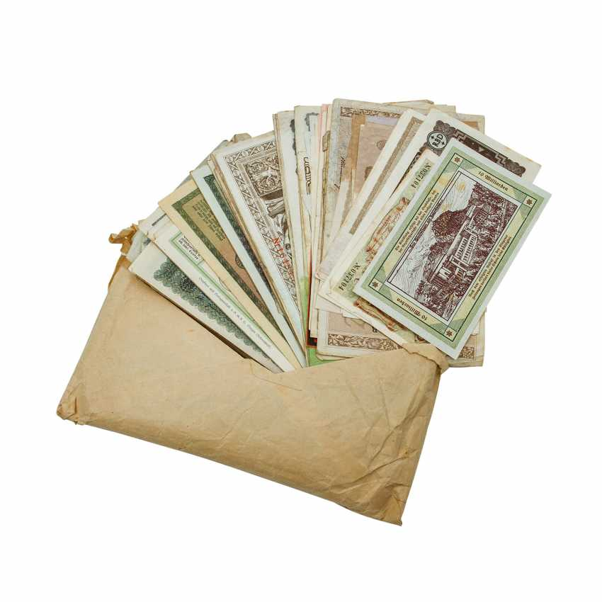 Bundle Of Bank Notes 1. Half of the 20. Century - - photo 1