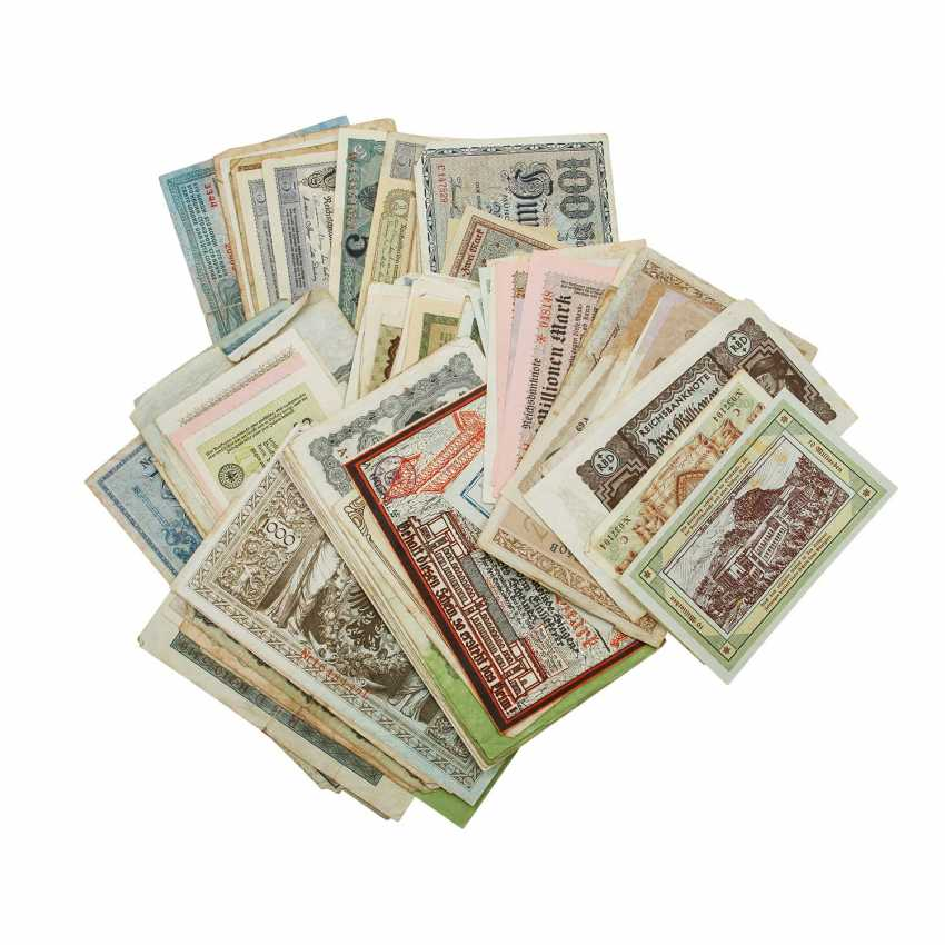 Bundle Of Bank Notes 1. Half of the 20. Century - - photo 2