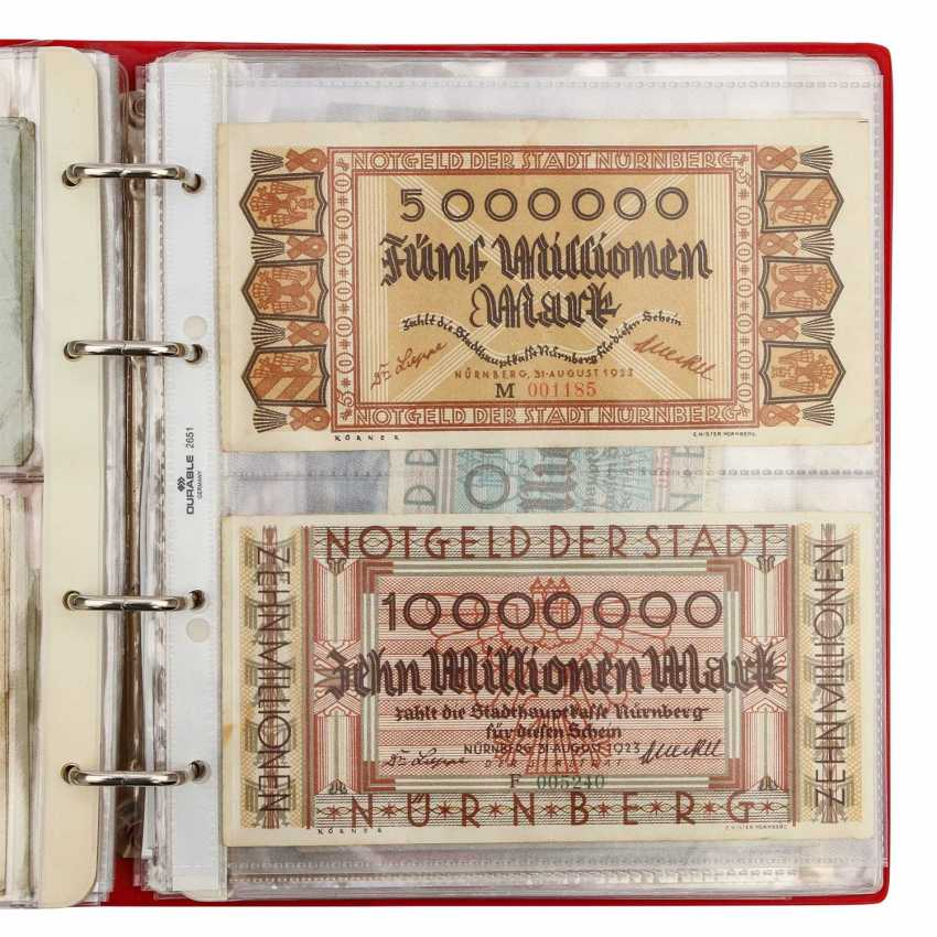 Dt. Empire / Austria - About 100 mostly different notes, - photo 2
