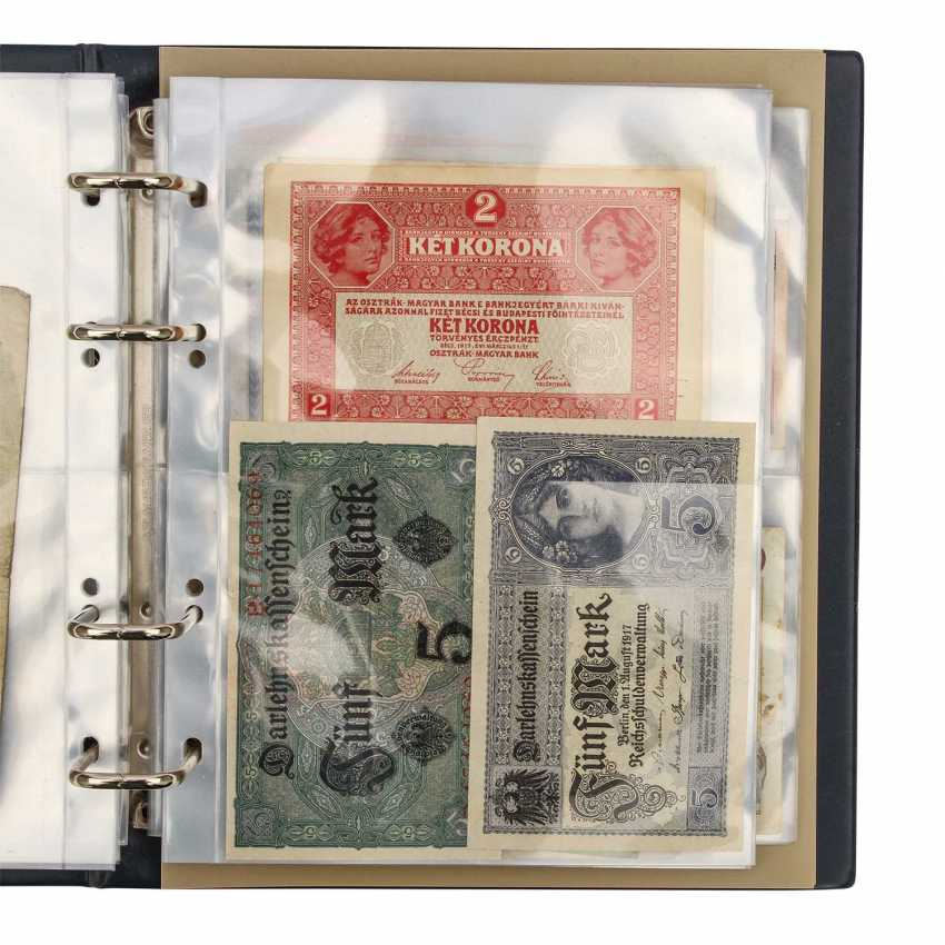Dt. Empire / Austria - About 100 mostly different notes, - photo 4