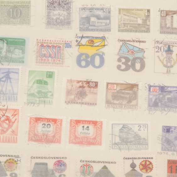 Notes and a few stamps - Rest of a large Deposit, - photo 2