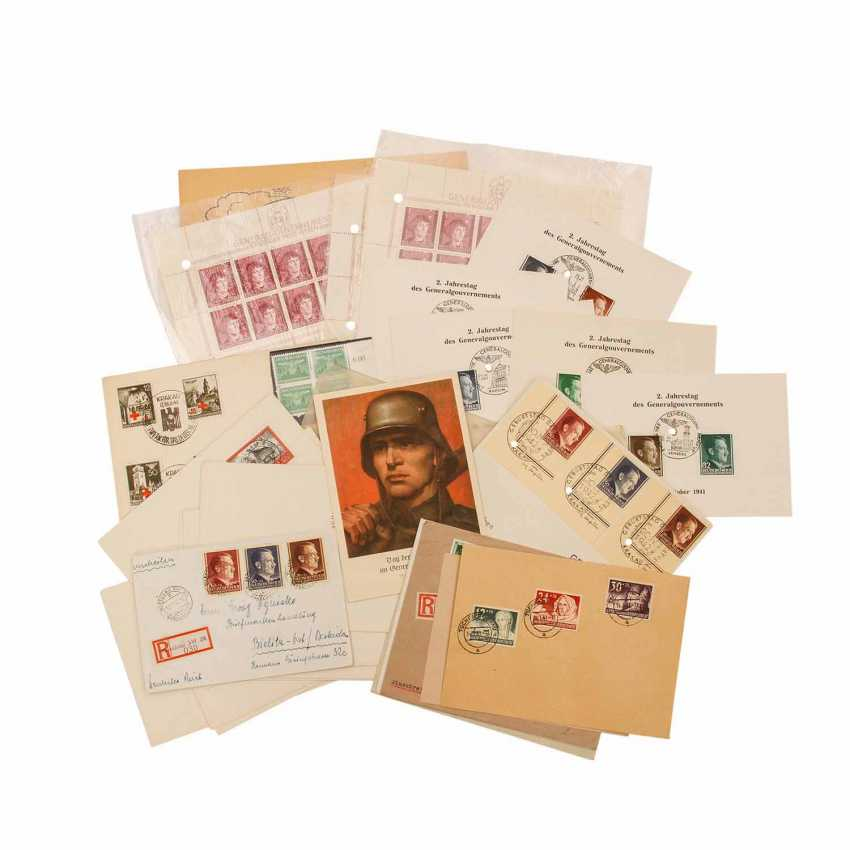 General government - 20 philatelic documents - photo 1