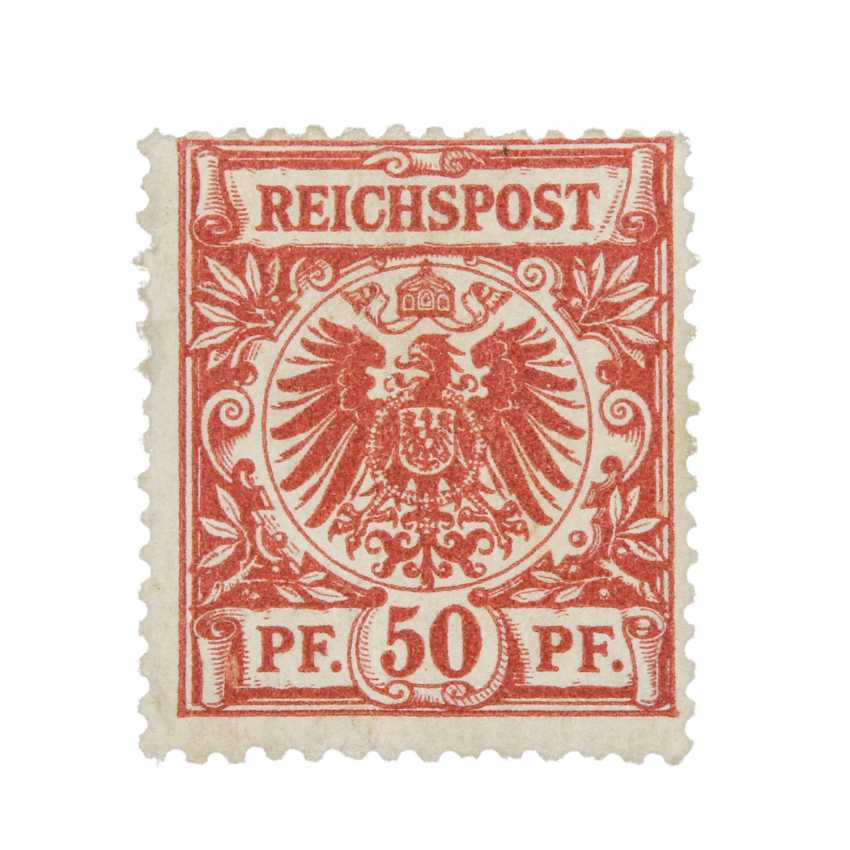 German Empire 1889, 50 Pfg. Carmine - photo 2