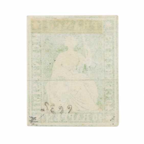 Swiss Federal Post - 1854, 40 Rp., Strubel, - photo 3