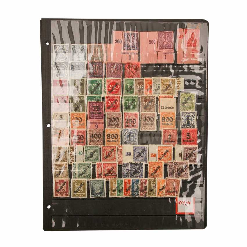 German Reich Official Stamps- - photo 3