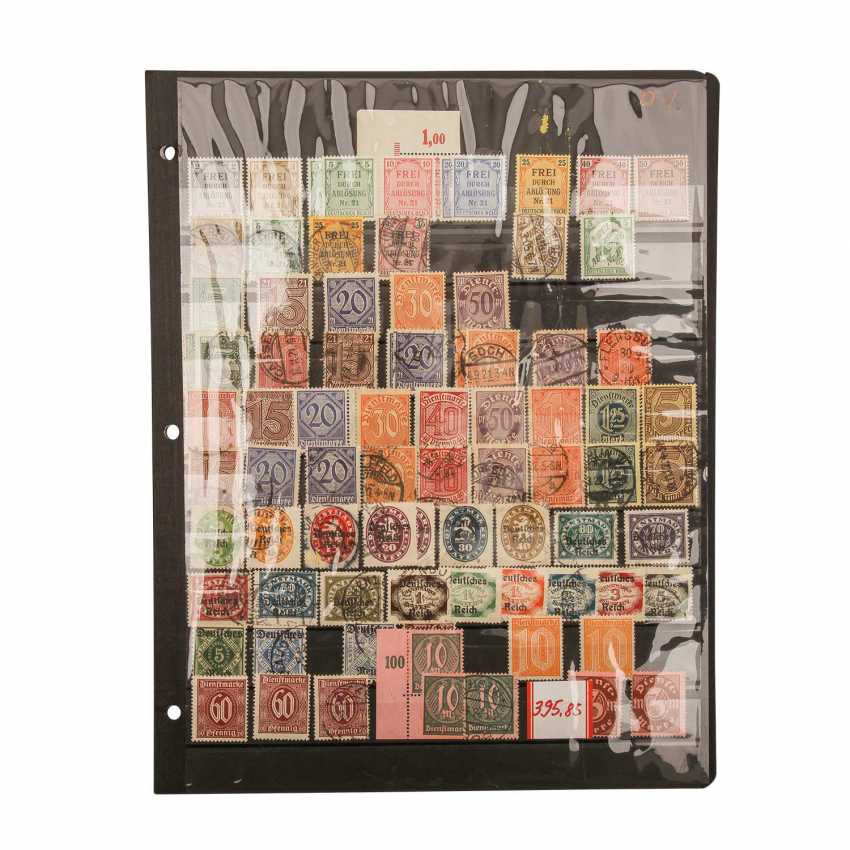 German Reich Official Stamps- - photo 4