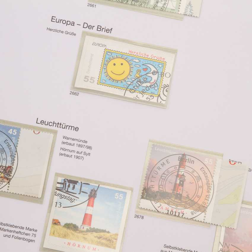 BRD - Beautiful complete stamp collection in 3 form albums, - photo 2