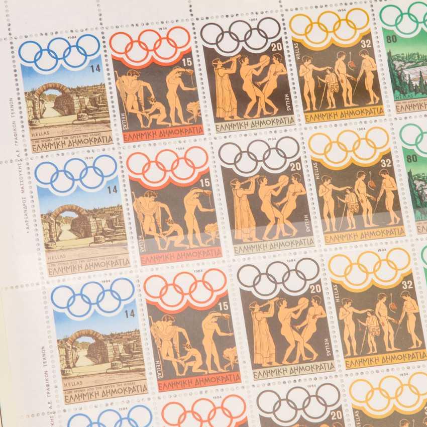 Motive Olympia 1984, - photo 3