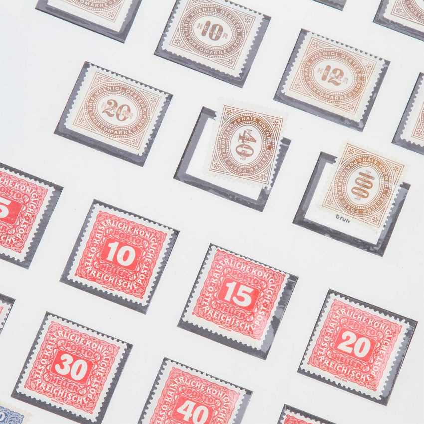 Austria Empire postage stamps collection from 1894/1917, 1.260 Euro KW, - photo 2