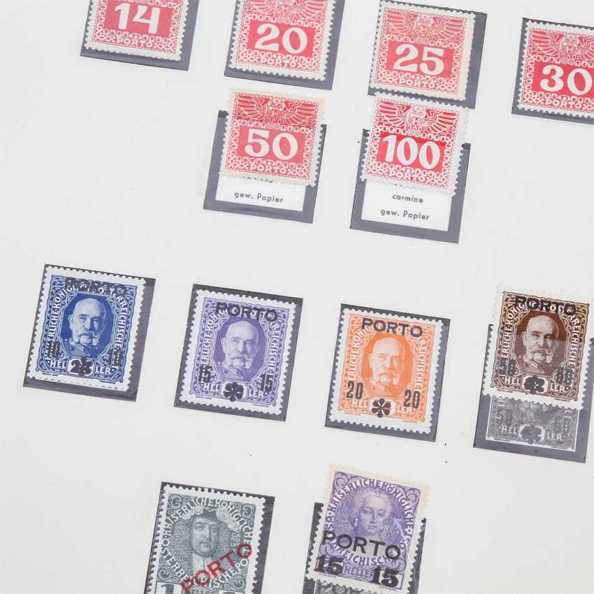 Austria Empire postage stamps collection from 1894/1917, 1.260 Euro KW, - photo 3