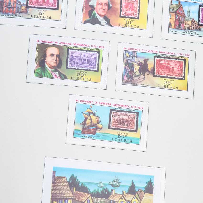 Motives 200 years USA – 3 form albums from the Borek subscription shipping with post office fresh brands, - photo 3