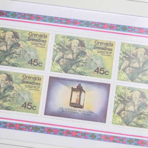 Motives 200 years USA – 3 form albums from the Borek subscription shipping with post office fresh brands, - photo 4