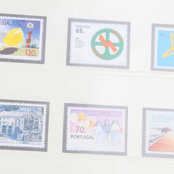 Portugal – Very nice collection in 2 Kabe clamping binder, - photo 4