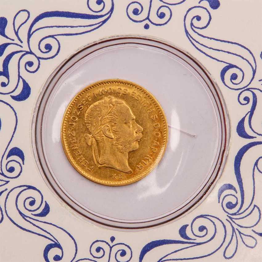 Ungarn - 4 Forint 1878/K.B., - photo 2