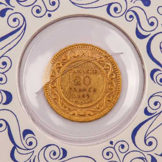 Tunesien - 20 Francs, 1892/A, - photo 3
