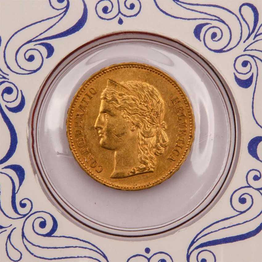 Switzerland - 20 Francs 1894, - photo 2