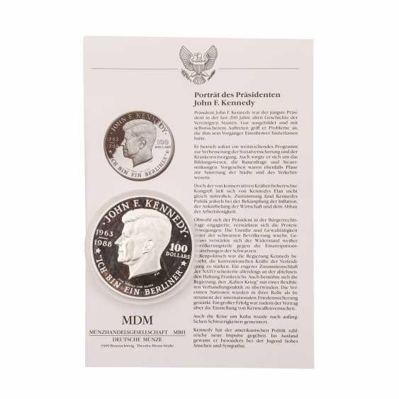 Niue - 100 Dollars 1988, - photo 1