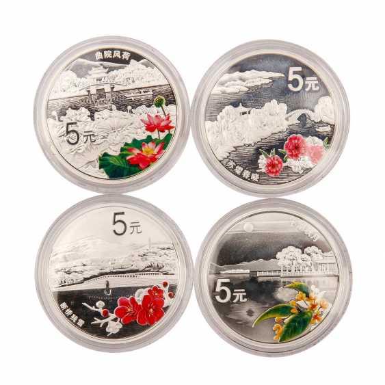 China - 4 x 5 Yuan 2014, - photo 2