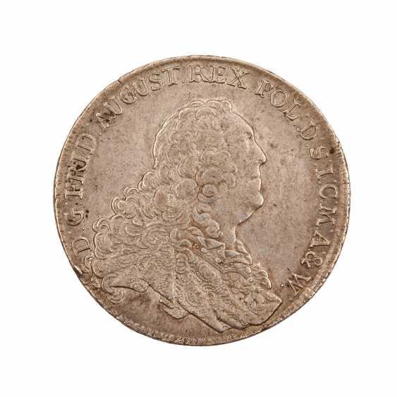 Saxony - 1 Convention Thaler of 1763, Friedrich August II., - photo 1