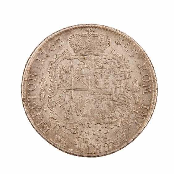 Saxony - 1 Convention Thaler of 1763, Friedrich August II., - photo 2
