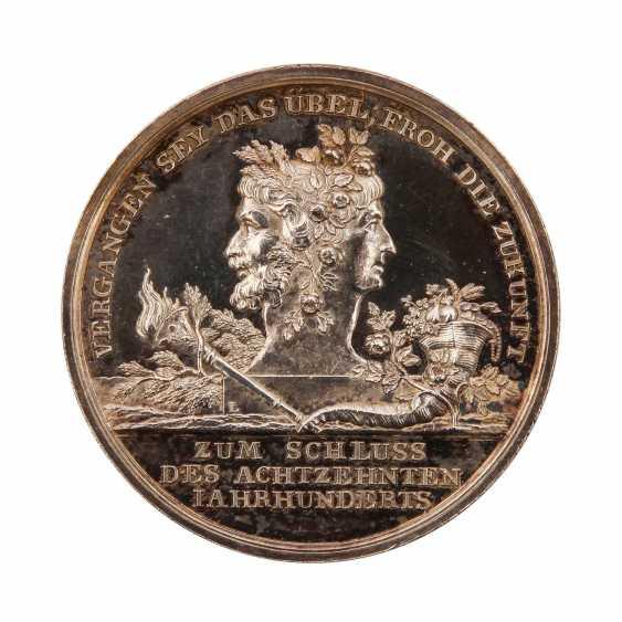 Loos Medaillen - silver medal or.J., (1800), - photo 2