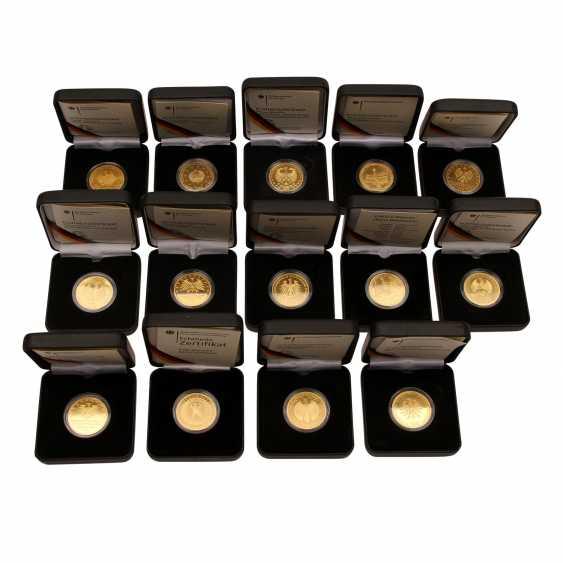 FRG - 14 x 100 Euro Gold, 7 ounces, - photo 1