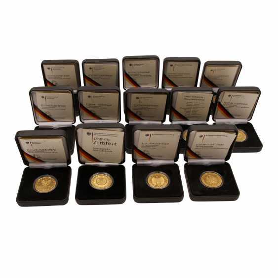 FRG - 14 x 100 Euro Gold, 7 ounces, - photo 2