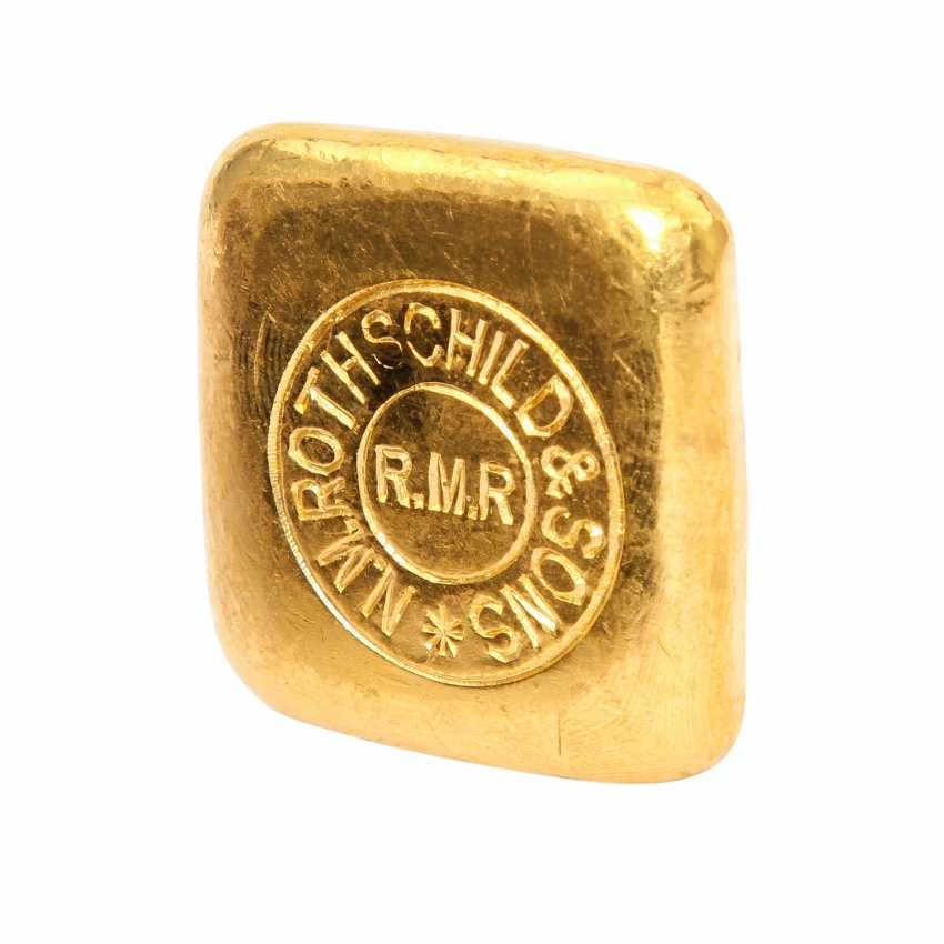ROTHSCHILD & SONS 50 grams of gold bars, - photo 1