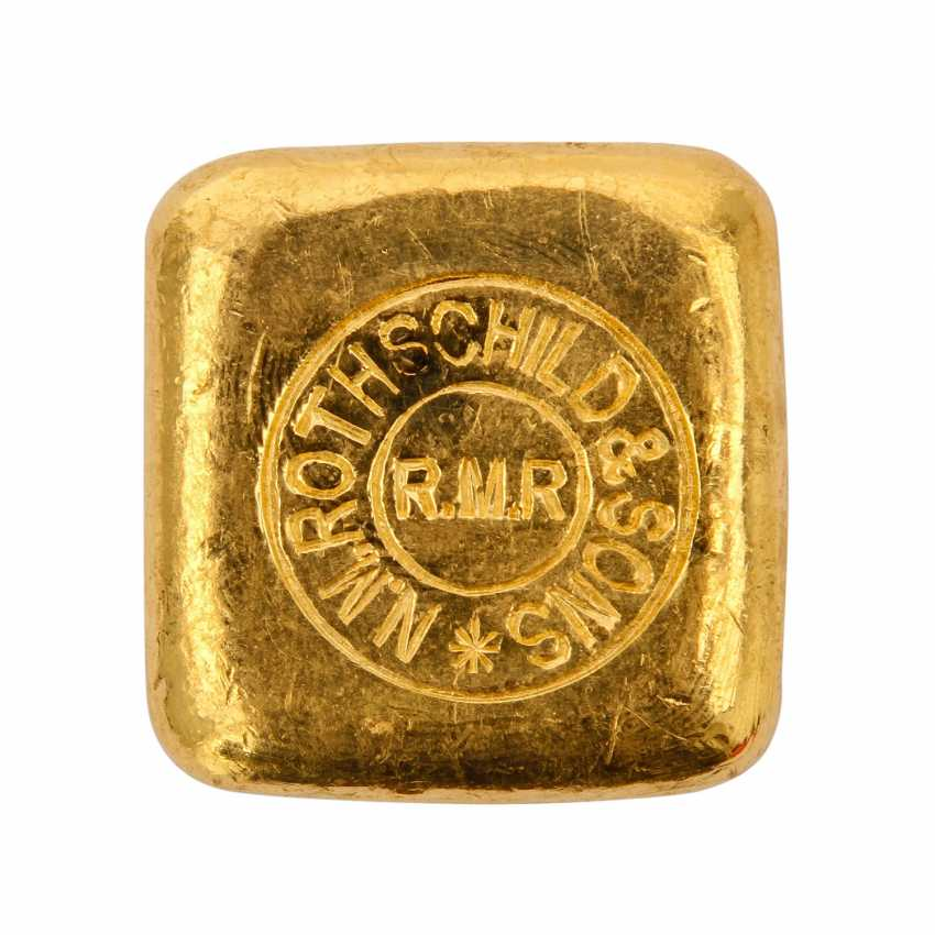 ROTHSCHILD & SONS 50 grams of gold bars, - photo 2