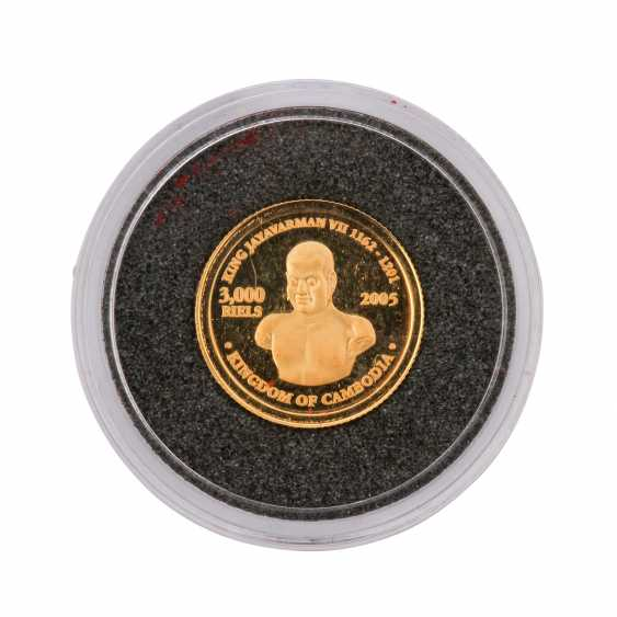 Gold solder many exotics. 437 g of finely, 34 coins. - photo 6