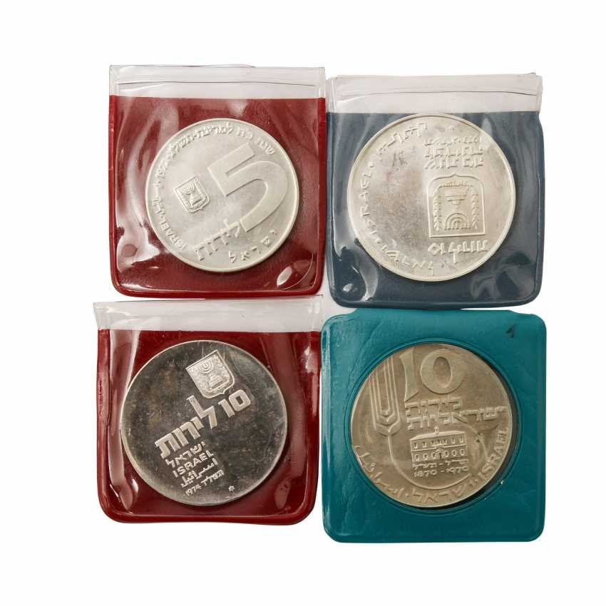 Israel - 7 Commemorative Coins, - photo 3