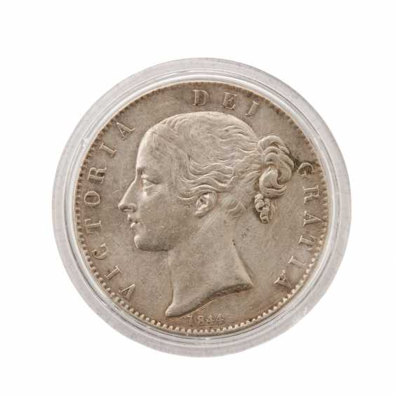 Great Britain - Silver Crown 1844, - photo 1