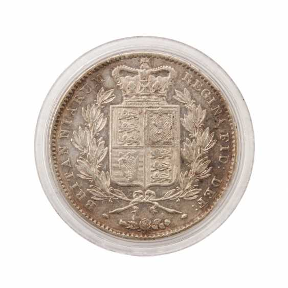Great Britain - Silver Crown 1844, - photo 2