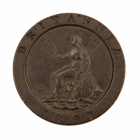 Grossbritannien - 2 Pence Georg III, - photo 1