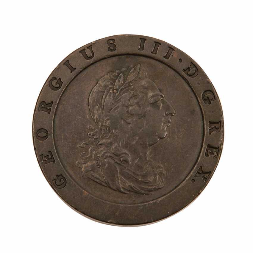 Grossbritannien - 2 Pence Georg III, - photo 2